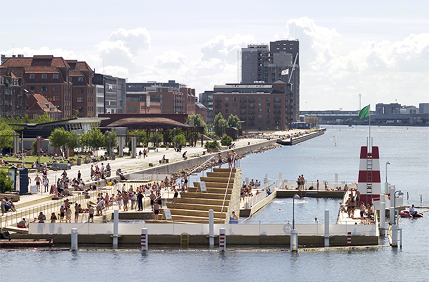 Islands Brygge habour baths